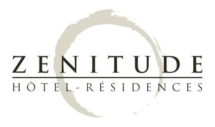 Zenitude résidences Blanc 2015