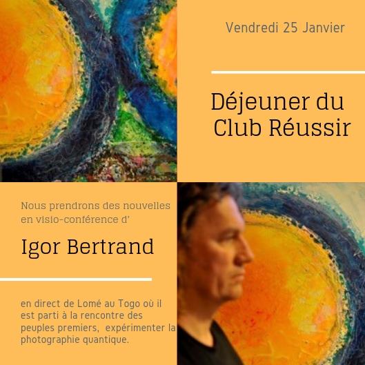 Déjeuner Réussir – 25/01/2019