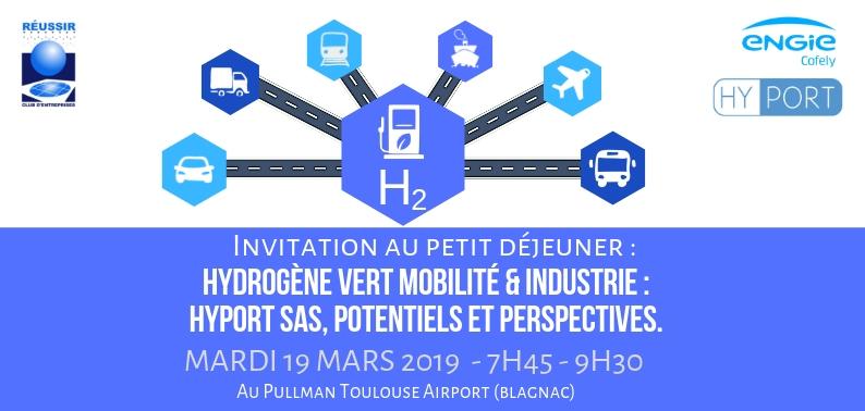 Petit-Déjeuner Hydrogène 19Mars 2019