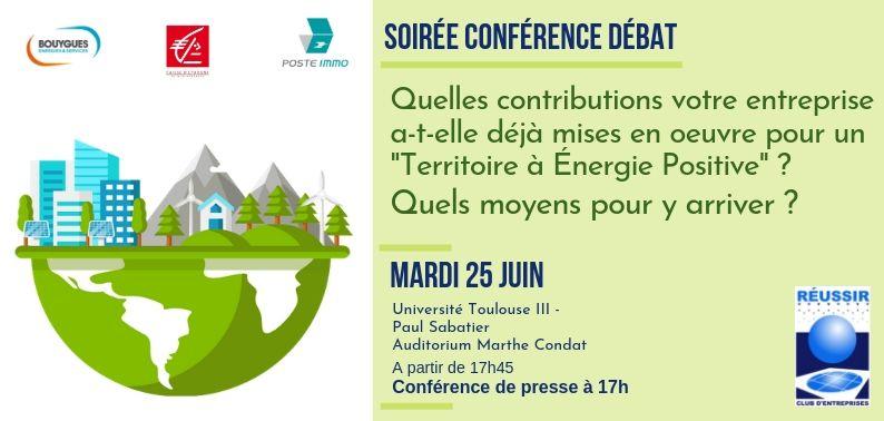 Soirée Conférence -Débat Mardi 25 Juin 2019