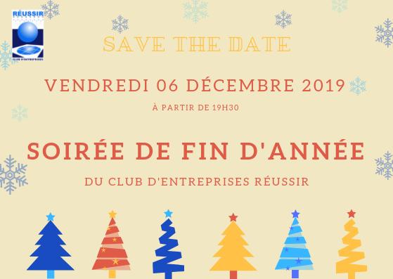 SAVE THE DATE – Soirée de fin d'année du Club Réussir