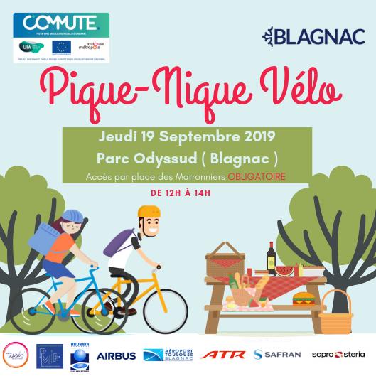 Pique-Nique à Vélo – COMMUTE – Jeudi 19 Septembre 2019
