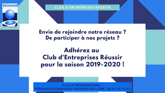 Adhérez au Club Réussir !