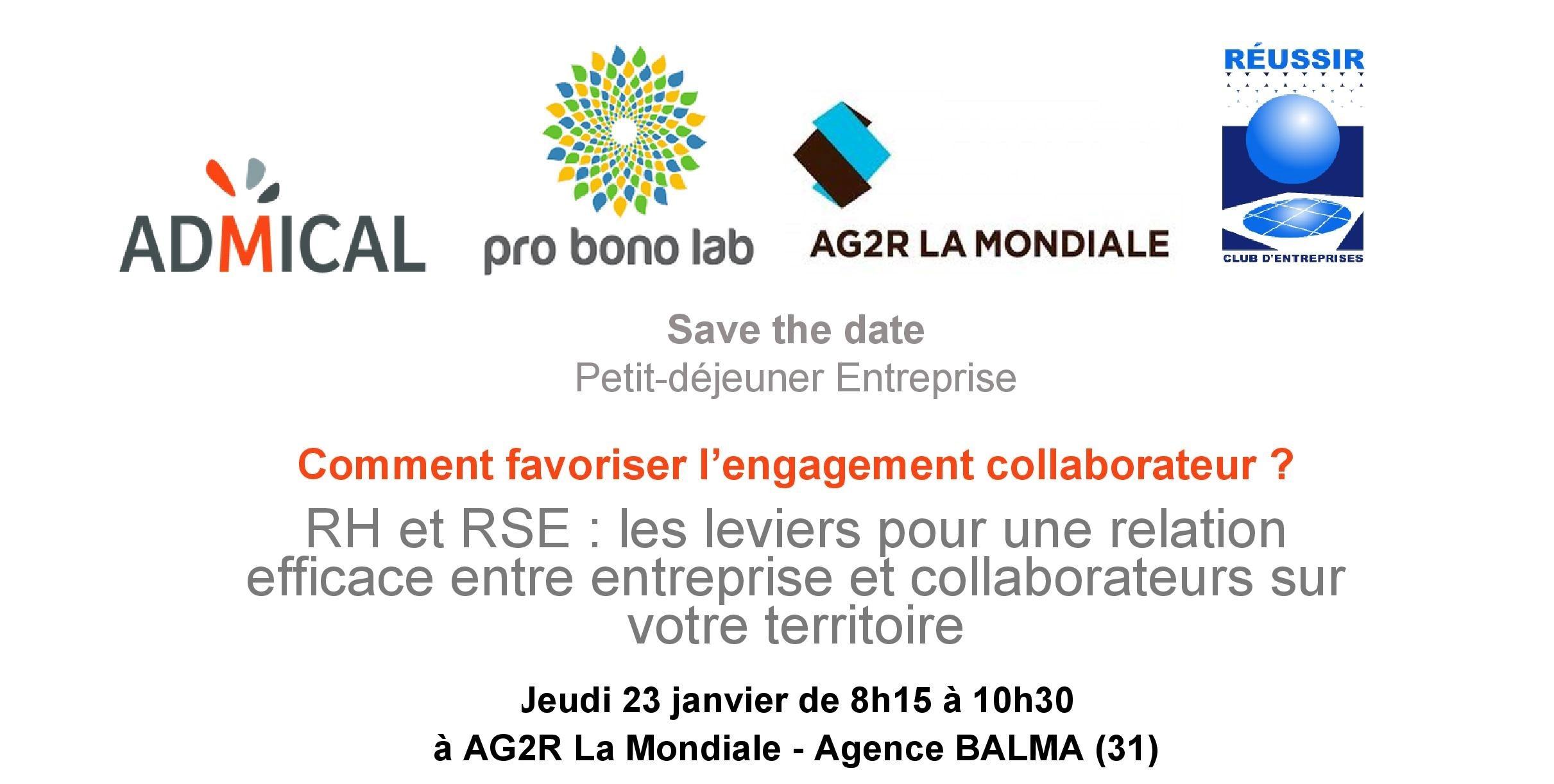 Petit-Déjeuner Entreprise – 23 Janvier 2020 – AG2R LA MONDIALE